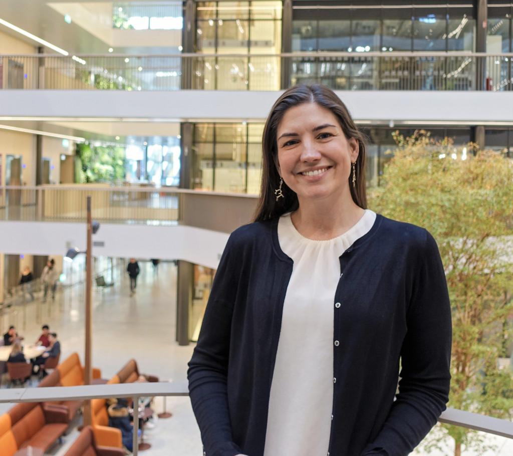 Emma Andersson, Assistant Professor, Karolinska Institutet. Photo: © Ragnar Söderbergs stiftelse 2020.