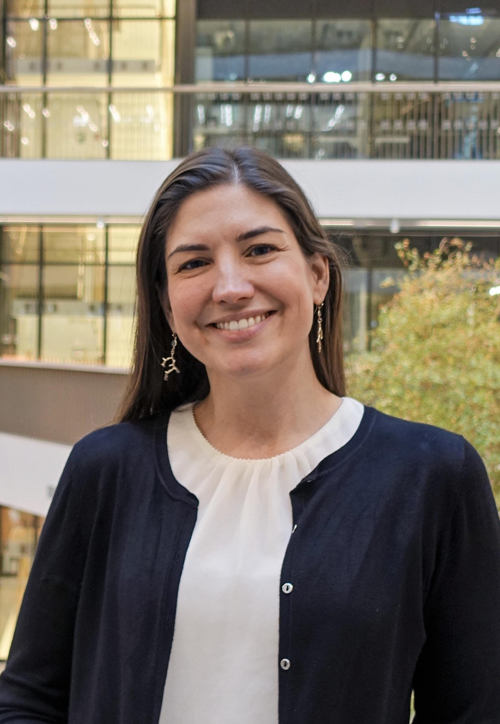 Emma Andersson, Assistant Professor, KI. Photo: © Ragnar Söderbergs stiftelse 2020.